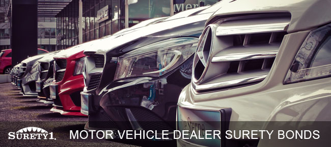 motor vehicle dealer bond surety1 surety1