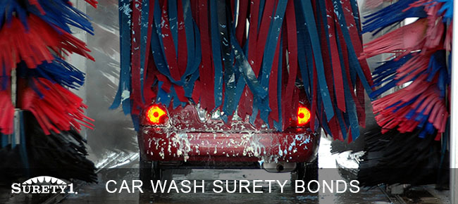 car wash surety bond