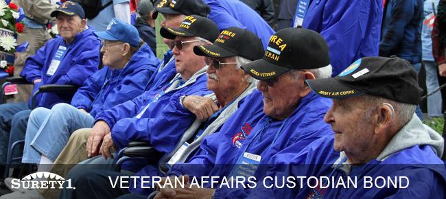 veteran affairs custodian bond