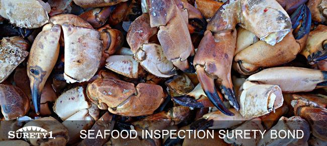 seafood inspection surety bond