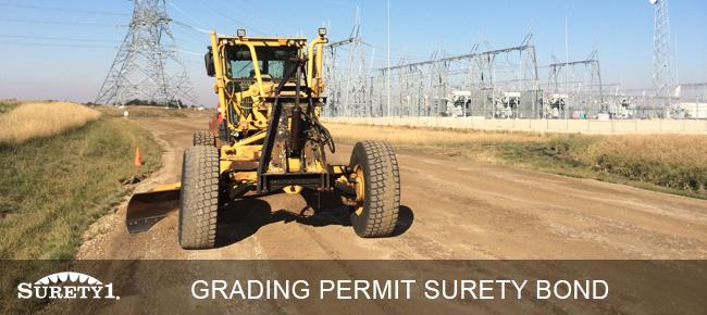 grading permit surety bond
