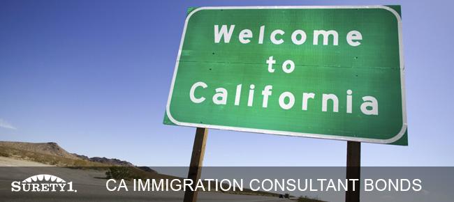 california immigration consultant bond