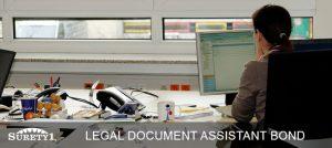 California Legal Document Assistant (LDA) Surety Bond