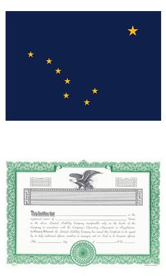 Alaska Lost Stock Certificate