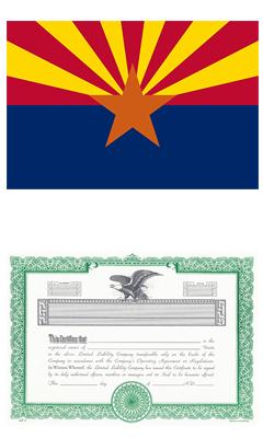 Arizona Lost Stock Certificate