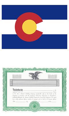 Colorado Lost Stock Certificate