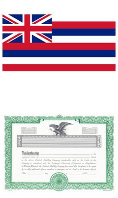 Hawaii Lost Stock Certificate