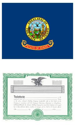 Idaho Lost Stock Certificate