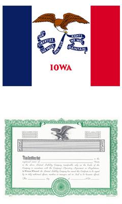 Iowa Lost Stock Certificate