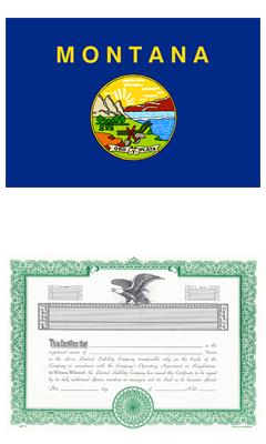 Montana Lost Stock Certificate