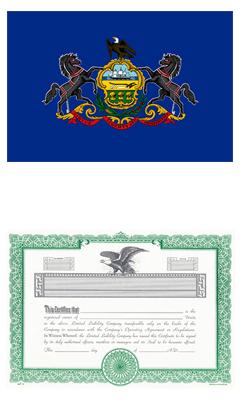 Pennsylvania Lost Stock Certificate