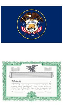 Utah Lost Stock Certificate
