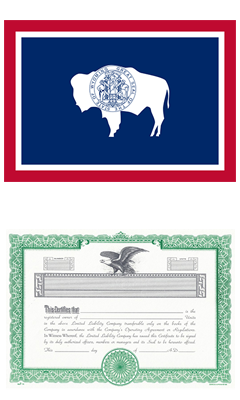 Wyoming Lost Stock Certificate