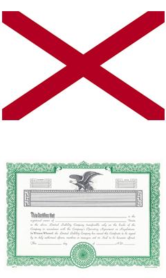 Alabama Lost Stock Certificate Bond